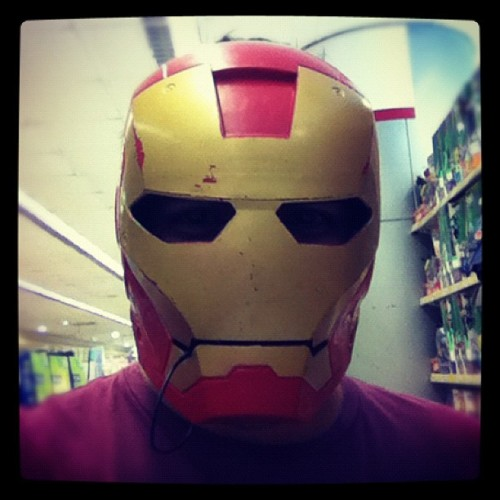 #carademartes inzronman (Taken with instagram)