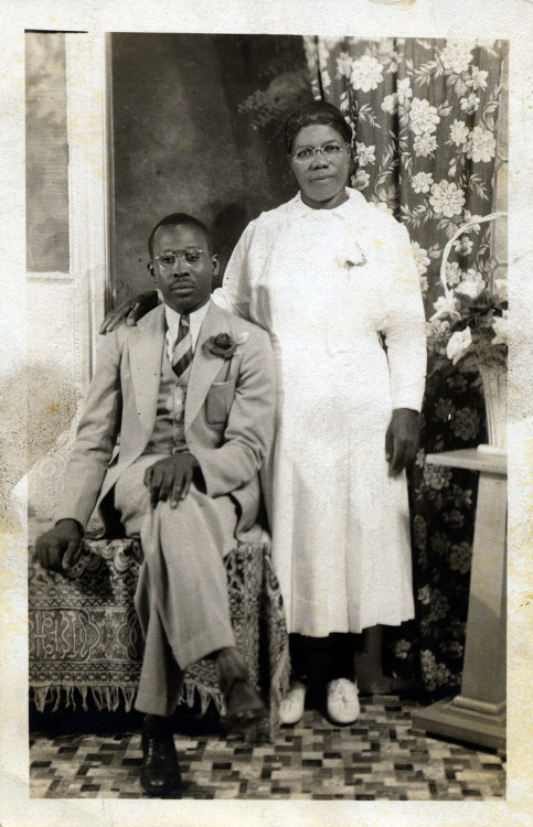 Mr. & Mrs. Spence [Spence Family Album] ©WaheedPhotoArchive, 2012