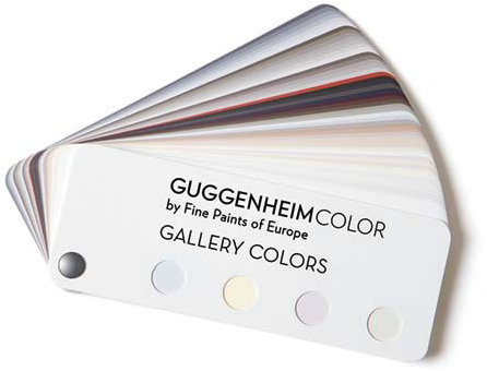 Guggenheim colourcard