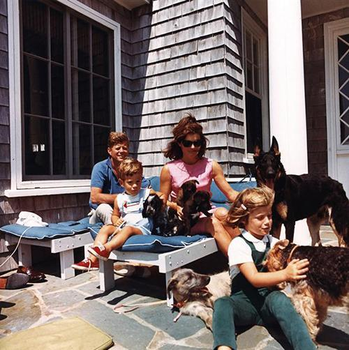 thesorrowsofgin:  The Kennedys at Wexford, Middleburg, Virginia, 1963.