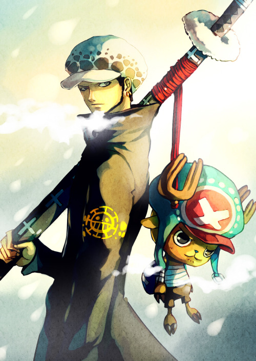 sandlogia:  Law and Chopper!