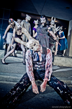 elementalphotos:  Splicers Group shoot at Anime North 2012. Full gallery here.  Cosplaying as a splicer at Supanova this year, very soooon!!