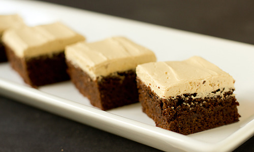 Mocha Brownies. &recipe here.