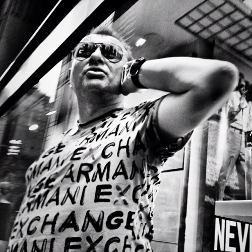 #iphone #procamera #noir #timessquare #nyc  (Taken with instagram)