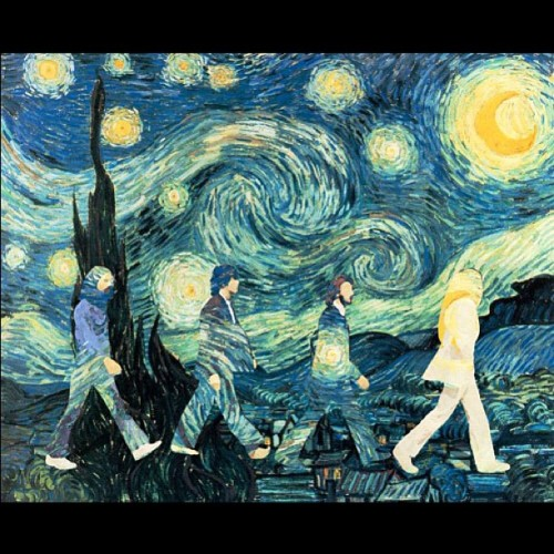 #Beatles #art #beautiful  #vangogh #starry #night #starrynight #van #gogh #awesome (Taken with instagram)