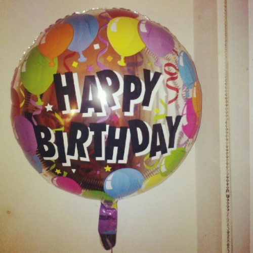 #HappyBirthday Too Me ! #Balloon (Taken with instagram)