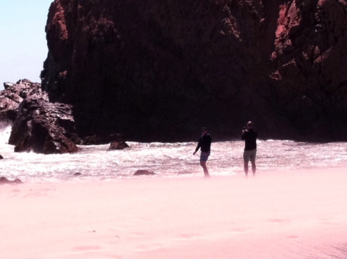 Pfeiffer Beach, CA Photo: 5/23/12. Karen Glosser.