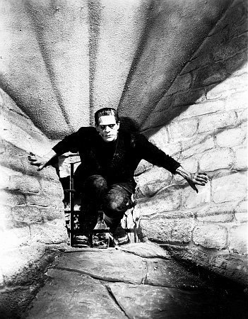 momentsdeloisir:  Boris Karloff as Frankenstein (1931)Photograph by Sherman Clark