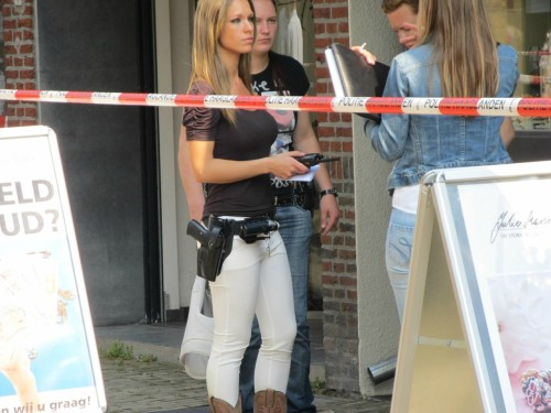 Incredibly Photogenic Dutch Cop - Imgur  She's freaking hot.