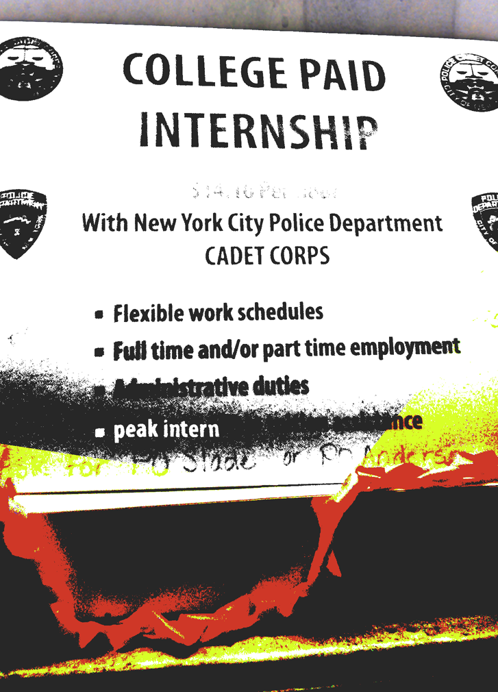 AN AGE OLD QUESTION: WHO WILL WATCH INTERN FOR THE WATCHMEN?? NEW YORK CITY'S FINEST INTERNS.