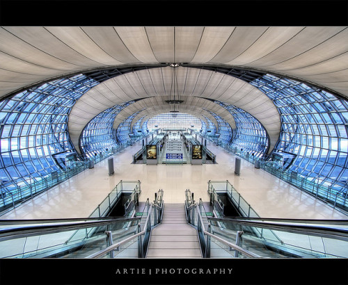 Suvarnabhumi Airport, Bangkok :: HDR by Artie | Photography :: No need 2 comment :) on Flickr.