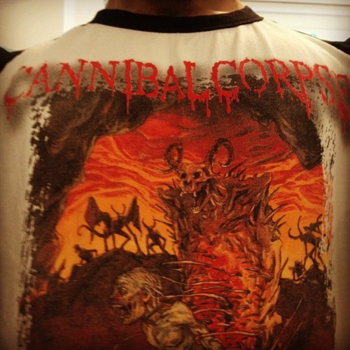 Day 52 - Cannibal Corpse, Centuries of Torment. #FullMetalMerch #CannibalCorpse #DeathMetal  (Taken with instagram)