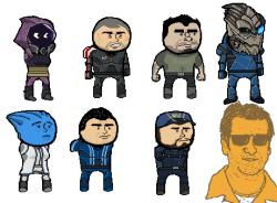 Mass Effect Paint Adventures 3: Vancouver Quest