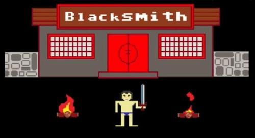 Visit the blacksmith.