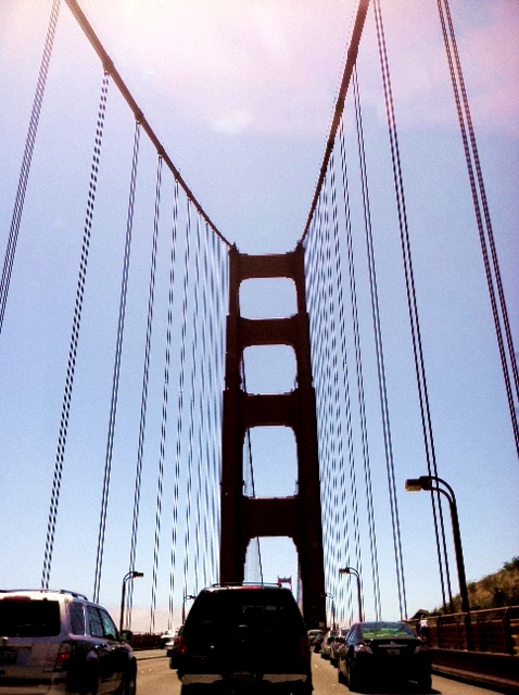 Hello, San Francisco! Photo: 5/26/12. Karen Glosser.