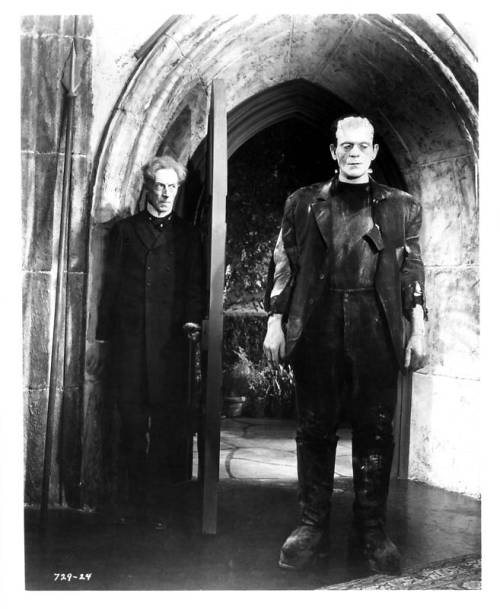 "arcaneimages:  Another new still from ""Bride of Frankenstein"" via http://classicmoviemonsters.blogspot.com/"