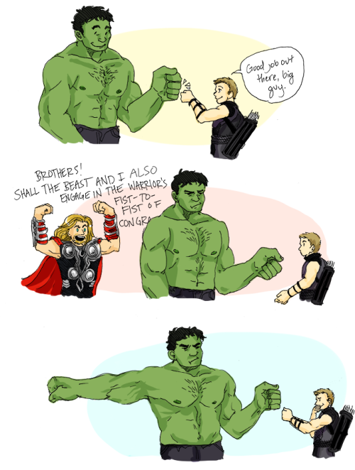 callmekitto:  HULKPUNCH jack likes hulkeye and I like jack AND hulkeye so it happened