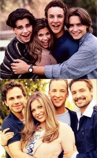 forever90s:  The Boy Meets World Cast: Then & Now. Now I feel really old.