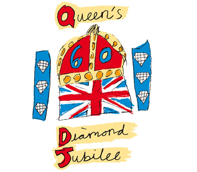 The UK's Diamond Jubilee logo.