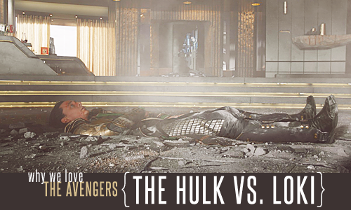 The Hulk vs. Loki