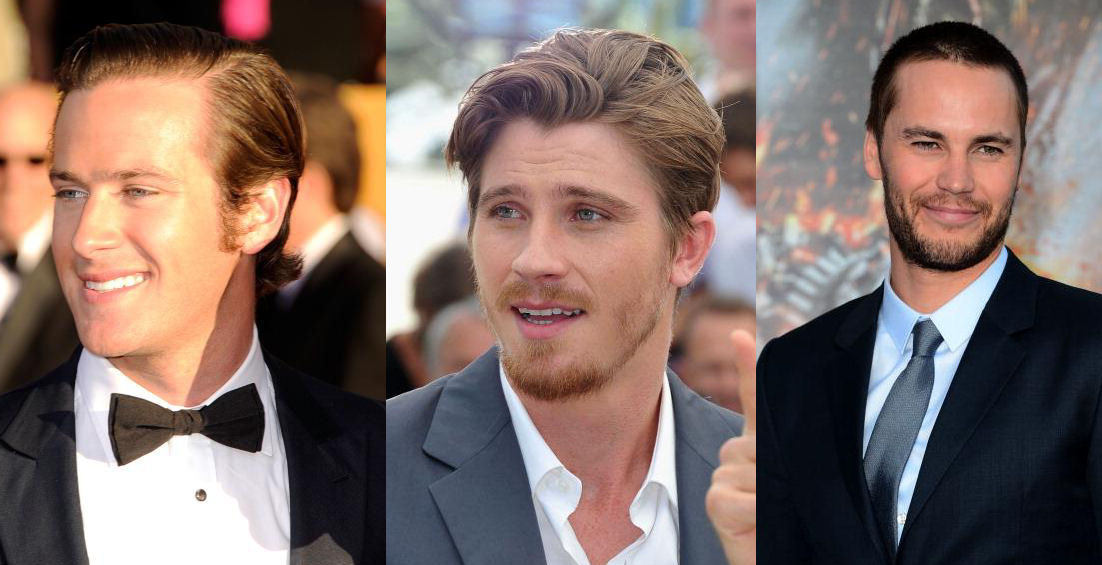 One of these men could be cast as Finnick Odair in CATCHING FIRE … see who's in the running!