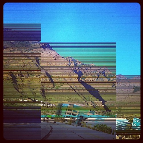 #still #digging #decim8 #exit #six #6 #wasatch #mountains #distorted #distortion #slc #saltlake #saltlakecity #utah #instautah (Taken with instagram)
