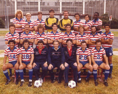 geoffchaucer:  Found the inspiration for the new kits - Team America 1983
