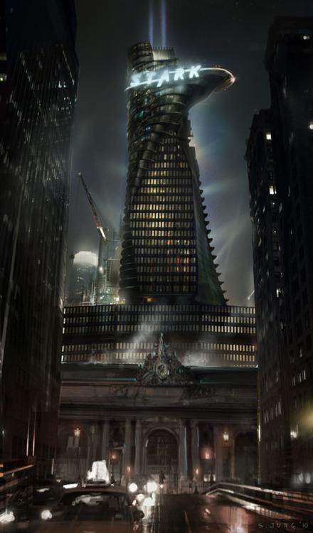 funniest10k:  Stark tower looks like a fucking llama.