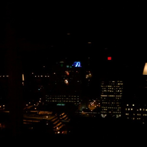 At Blu. Best views in Milwaukee.  (Taken with instagram)
