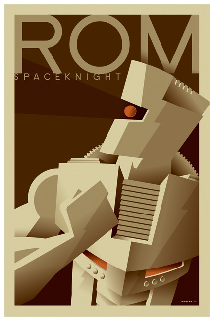 lulubonanza:  rom tribute poster by *strongstuff