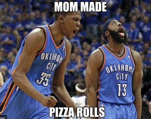 nerdygeekychic:  Be honest… You get this excited for pizza rolls too.