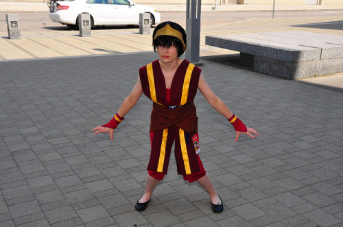 Fire Nation Disguise Toph!