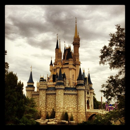 Cinderella's Castle, The Magic Kingdom, Walt Disney World, Lake Buena Vista, FL #lakebuenavista #disneyworld #disney #waltdisneyworld #waltdisney #cinderella #castle #magickingdom  (Taken with Instagram at Magic Kingdom® Park)
