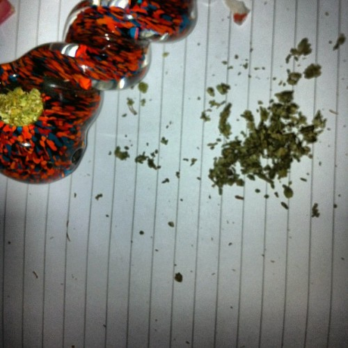 I'm my own pharmacist #wfayo #dopefam #weed #potent #bowl  (Taken with instagram)