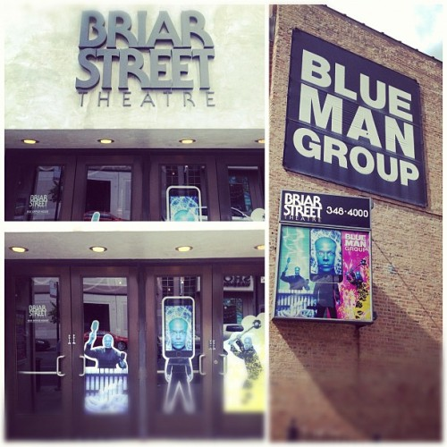 Blue Man Group | Briar Street Theatre #chicago  (Taken with Instagram at Blue Man Group at the Briar Street Theatre)