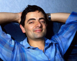 British actors I am in love with #7 - Rowan Atkinson.