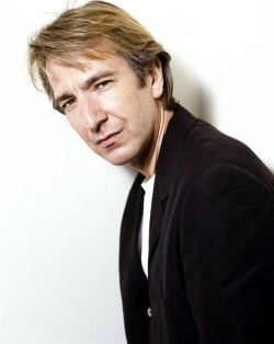 British actors I am in love with #8 - Alan Rickman.