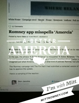 shortformblog:  Bet Mitt wishes the App Store worked like an Etch A Sketch right about now.  Oops. God Bless Amercia!