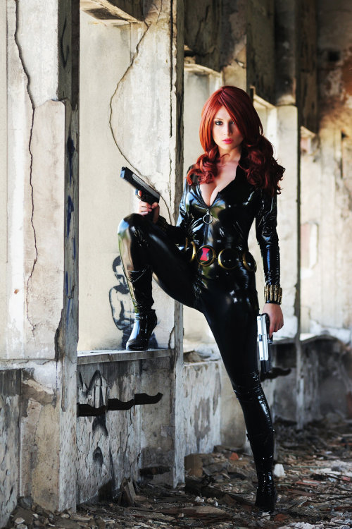 BLACK WIDOW TOTALLY SPY by *Giorgiacosplay