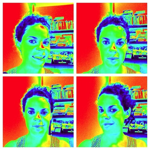 iPad Photo-Booth Thermal Camera. I was cool my apartment was warm.