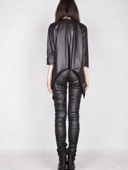 xunya:  The Extravagant Leather Jacket by designer Joanna Hawrot