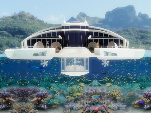 Floating Solar Retreat by Michele Puzzolante