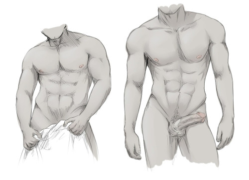 Moar body studies. Tried to draw more realistic this time, quite glad with the result. I used photos as refference.