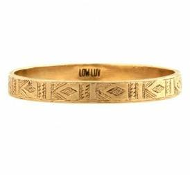in-fi-nity:  Engraved Bangle by Low Luv - $90