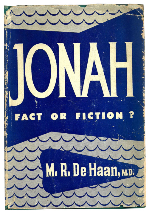 Jonah: Fact or Fiction? Vintage cover via Vintage Edition.