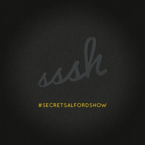 #secretsalfordshow #ssshow #sssh 18th June till 21st June  (Taken with instagram)