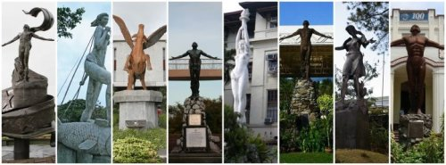 whynotcoconut:  A collage of the landmarks from the different constituent universities and autonomous college of the UP System. From left: UP Open University; UP Visayas; UP Los Baños; UP Diliman; UP Manila; UP Mindanao; UP Baguio; and UP Cebu College. I'm trying very hard not to reblog things but this post is just, really, all my love for this university. :pvia fuckyeahperfectingfailure, c/o http://www.facebook.com/upsystem   FOR THE LOVE OF UP! I miss UP!