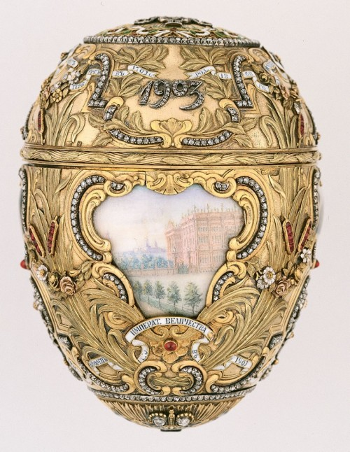 "lostsplendor:  Happy Birthday Peter Carl Fabergé [1846-1920] ""Peter Carl Fabergé also known as Karl Gustavovich Fabergé in Russia was a Russian jeweller, best known for the famous Fabergé eggs, made in the style of genuine Easter eggs, but using precious metals and gemstones rather than more mundane materials. Wikipedia"""
