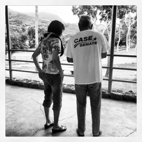 cavinjm:  Audrey Case & Lloyd Nekoba (Taken with Instagram at Keolu Elementary School)