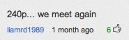 """240p… we meet again""  A comment found on YouTube video Elliott Smith Gives A Songwriting Lesson"